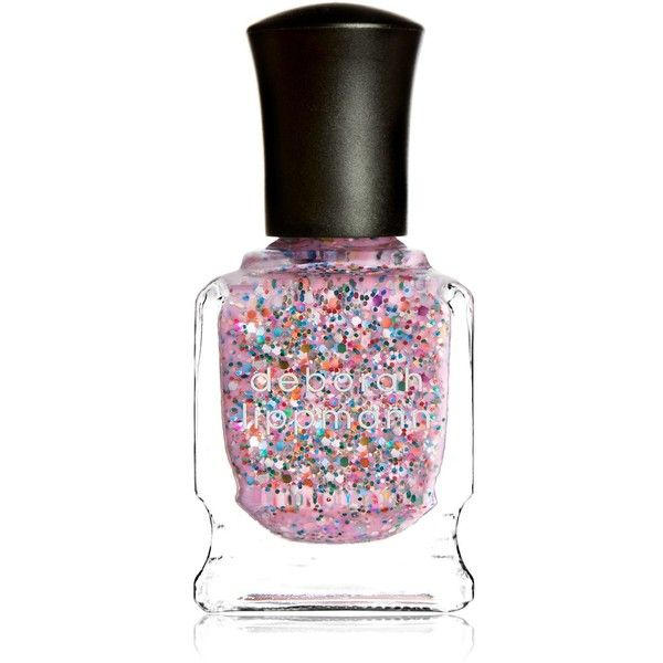 Deborah Lippmann Glitter Nail Colour ($20) ❤ liked on Polyvore featuring beauty products, nail care, nail polish, beauty, nails, deborah lippmann nail lacquer, deborah lippmann, deborah lippmann nail polish and deborah lippmann nail color