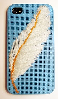 iphone embroidery