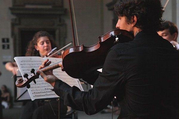 Concerti musicali e note riusonano tra le sale e i cortili della Pinacoteca #music #art #classic #pinacotecabrera #museobrera