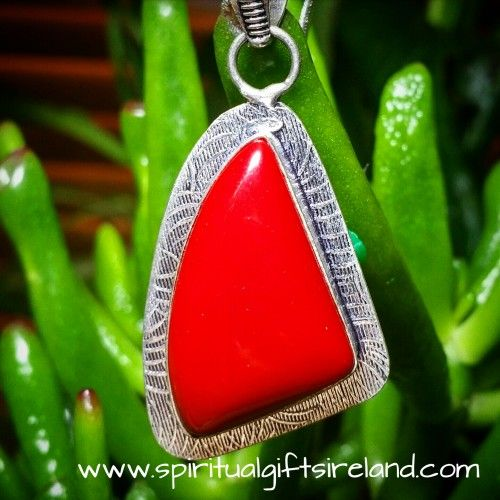 Visit our store at www.spiritualgiftsireland.com  Follow Spiritual Gifts Ireland on www.facebook.com/spiritualgiftsireland www.instagram.com/spiritualgiftsireland www.etsy.com/shop/spiritualgiftireland	 We are also featured on Tumbler  💮Like an exotic tropical plant on the ocean floor, Red Coral symbolises life force energy.🏝  A warm passionate colour, which excites emotions and gives confidence to shy souls.  Coral resonates with creativity and optimism.  It ignites forgotten desires and…