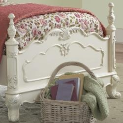 Very pretty! @Overstock.com - This kids' furniture set features Victorian styling with floral motif hardware, ecru painted finish and traditional carving details that create the feeling of a princess. This Fairytale Collection bedroom set includes a full-size bed and nightstand.http://www.overstock.com/Home-Garden/Fairytale-Collection-Full-size-Bed-and-Nightstand/5980842/product.html?CID=214117 $802.62