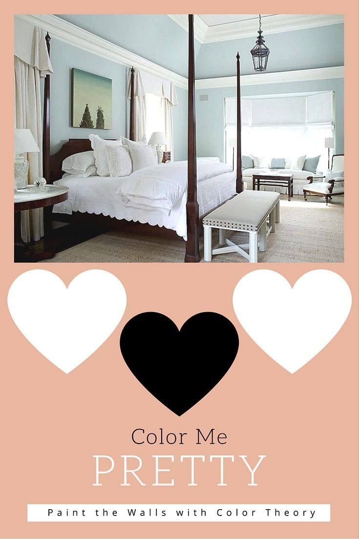 bedroom by using color theory to paint the walls and find the best