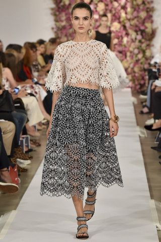 The Top 10 Trends of Spring 2015: The Ultimate Fashion Week Cheat Sheet – Vogue - Oscar de la Renta
