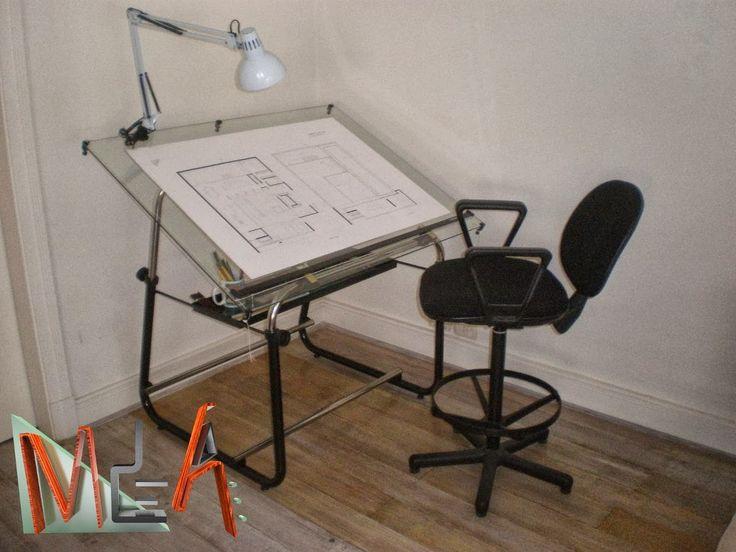 mesa de dibujo con vidrio - Buscar con Google