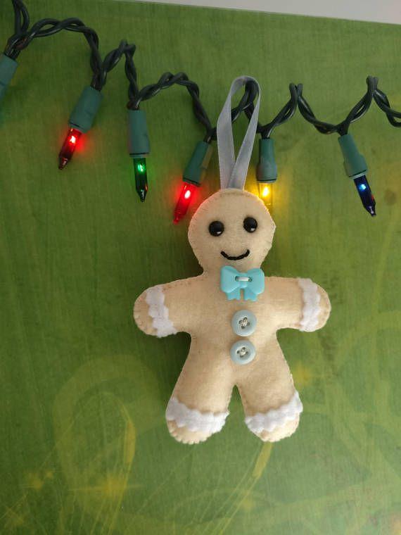 Christmas tree decoration Gingerbread man ornamentReady to