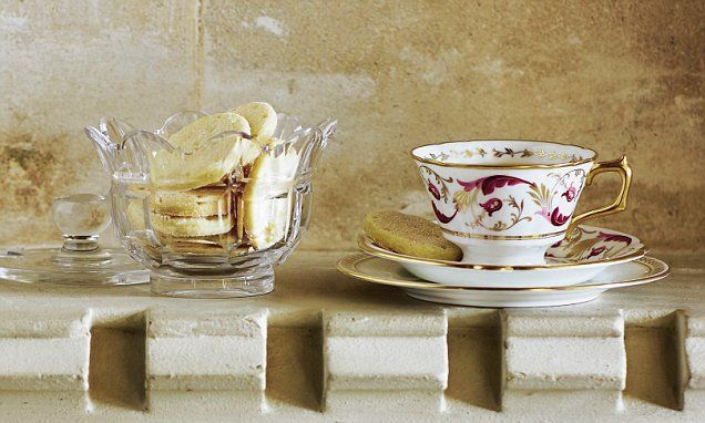 Royal tea rules: Cardamom and orange shortbread