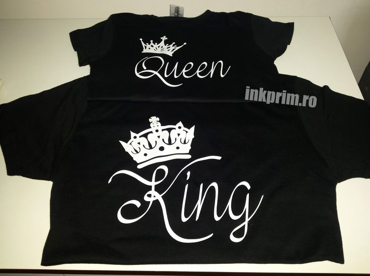 Set Tricouri #Cuplu #King & #Queen  --->> http://inkprim.ro/tricouri-imprimate/tricouri-cuplu/tricouri-king-and-queen <<---