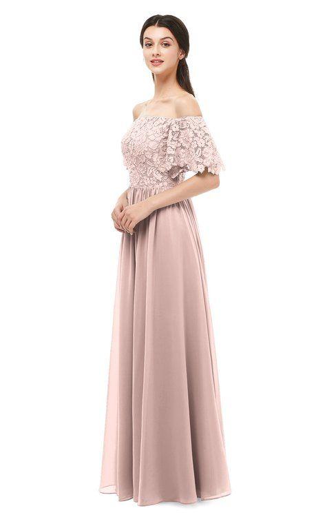 f17b6e171b70 ColsBM Ingrid Dusty Rose Bridesmaid Dresses Half Backless Glamorous A-line  Strapless Short Sleeve Pleated