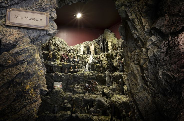 Make a visit to The Weta Cave to check out the mini-museum, you can come face to face with some of the characters, props and displays from your favourite movies. Read the stories of how they were brought to life and learn about the artists who created them. (Photo courtesy of The Weta Cave)