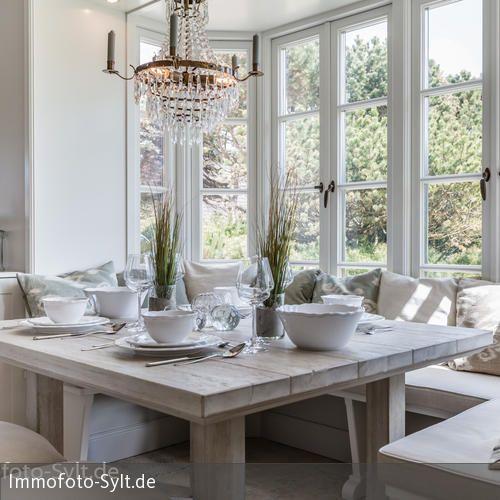 Fotoarbeiten Reetdachhaus In List Stilvoll WohnenReetdachhausNeubauSylt Wohnzimmer
