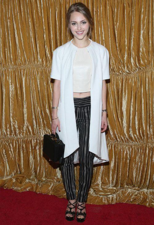 2/16 #アナソフィア・ロブ New York Fashion Week Fall 2015 |海外セレブ最新画像・私服ファッション・着用ブランドまとめてチェック DailyCelebrityDiary*