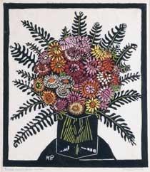Everlasting Flowers by Margaret Preston 1929