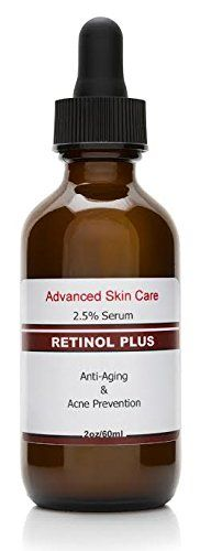 Retinol 2.5% with Vitamin C Serum 20% , Salicylic Acid 2%, three.5% Niacinamide B3, 10% MSM and Tea Tree Oil - Anti Growing older and Pores and skin Clearing Serum for Face, Pimples & Blemishes , Greatest Wrinkle Cream 2.oz...