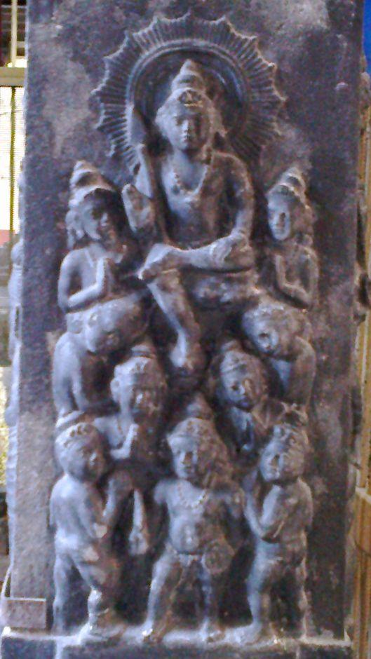 Nava Veeras performing pujas towards Lord Muruga !