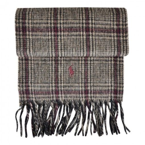 POLO RALPH LAUREN WOOL SCARF BLACK GLENPLAID   http://www.fernerjacobsen.no/sortiment/herre/assessoirer/polo-ralph-lauren-scarves-wool-426097-a67-a2132-t0z52
