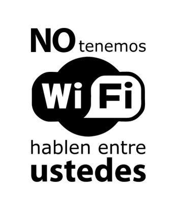 No Tenemos Wifi
