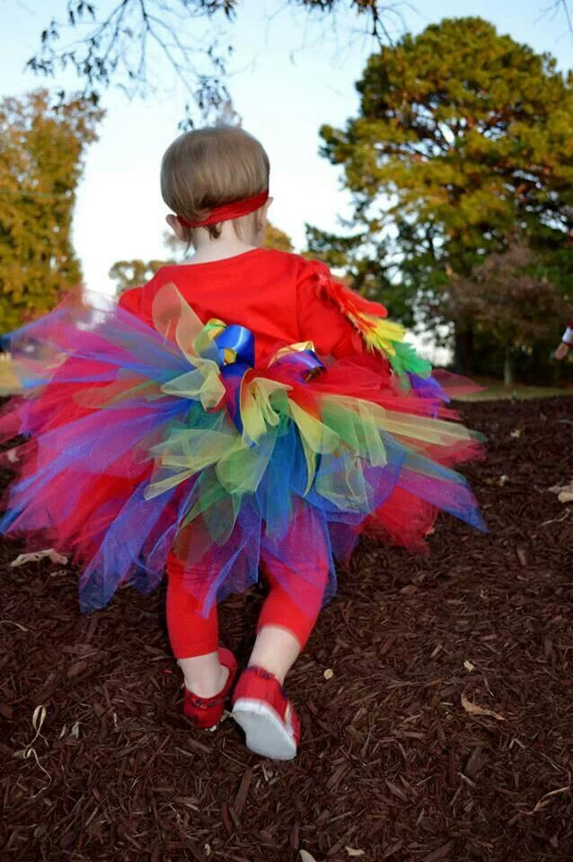 24 Best Images About Costume Diy Rainbow Macaw Parrot On
