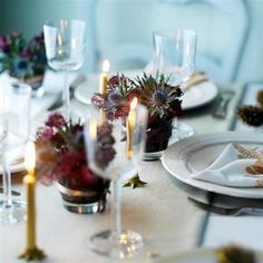 burns night table decorations - Google Search