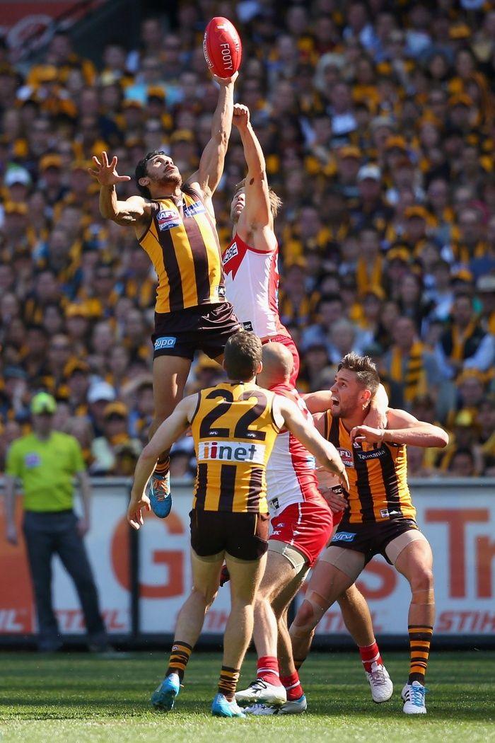 AFL grand final Rioli Hawks