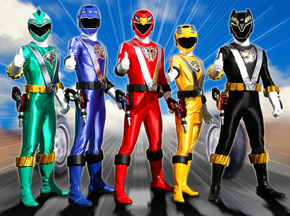 Power Rangers RPM. Just started watchin' this series. It's pretty good so far.