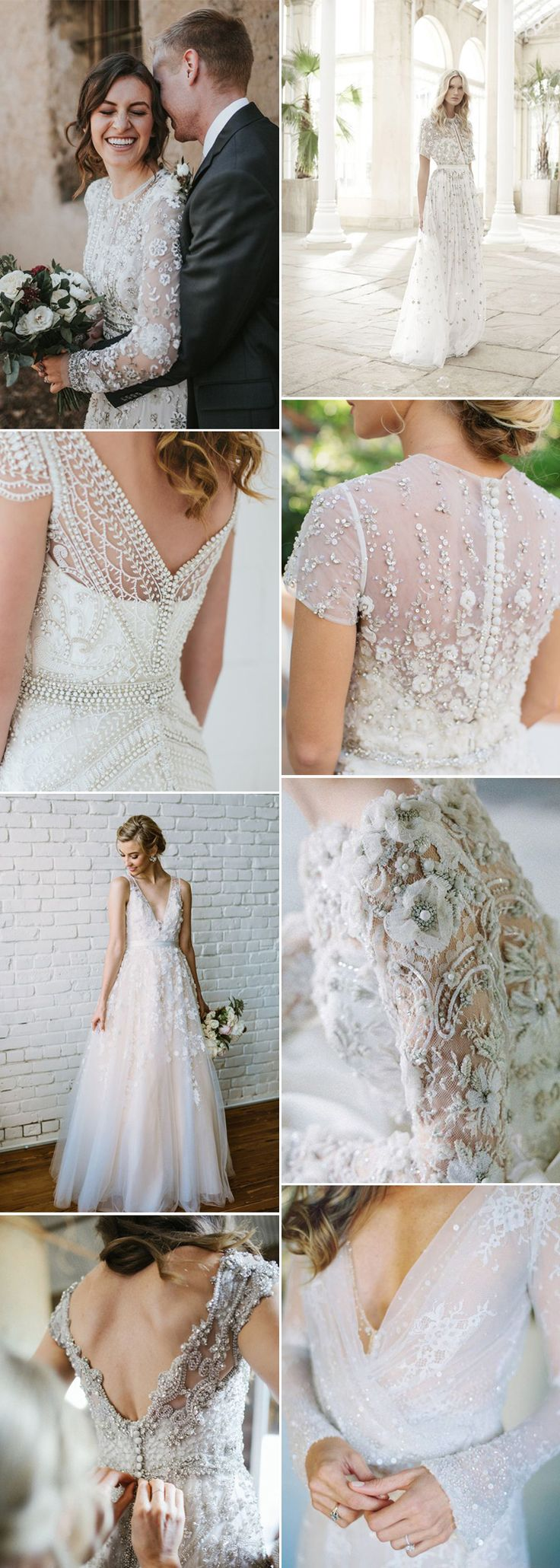 Embellished Wedding Dress or Plain – What's Your Style
