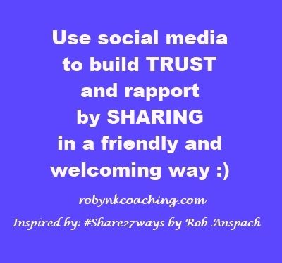 Social media is more about sharing and building relationships than marketing in a traditional sense.