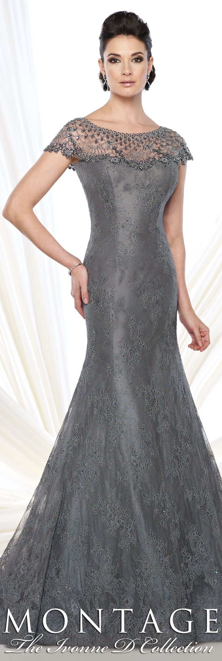 Montage The Ivonne D Collection  Fall 2015  - Style No. 215D10  #eveninggowns