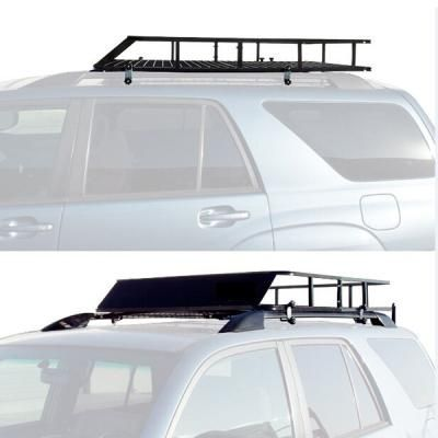 "48-1/2""*40""*5-1/2"" Outer Frame Size Detachable Iron Car Roof Top Carrier"