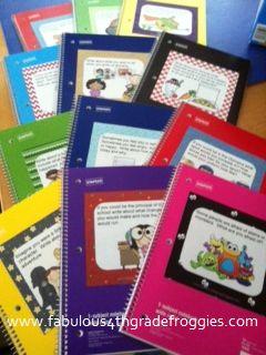Fabulous 4th Grade Froggies: Monday Made it - Journals