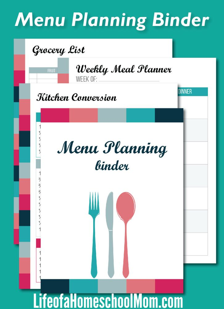 Best Meal Planning Images On   Meal Planning Menu