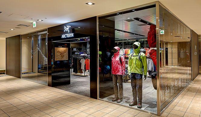 西日本初の直営店「アークテリクス 大阪E-ma店」がオープン ARC'TERYX