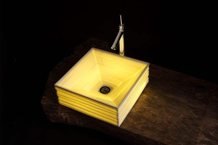 Translucent Ceramic Sink - Souhougama
