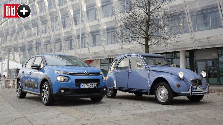 Citroën Oldtimer vs. Neuwagen – Wie viel Ente steckt im neuen C3?