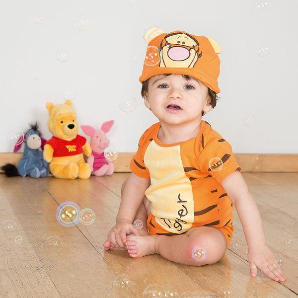 Disney Baby Tigger Jersey Bodysuit & Hat