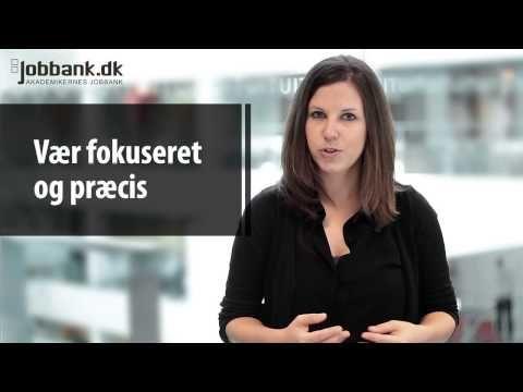 Hvordan får man gang i de uopfordrede ansøgninger? Få et par tips i Jobbank TV.
