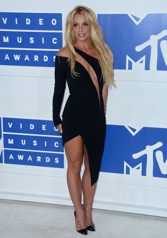 Britney Spears at the 2016 MTV Video Music Awards (VMAs) at Madison Square Garden in New York City on August 28, 2016