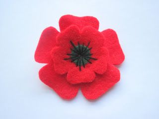 Grace's Favours - Craft Adventures: Poppies for Remembrance Day