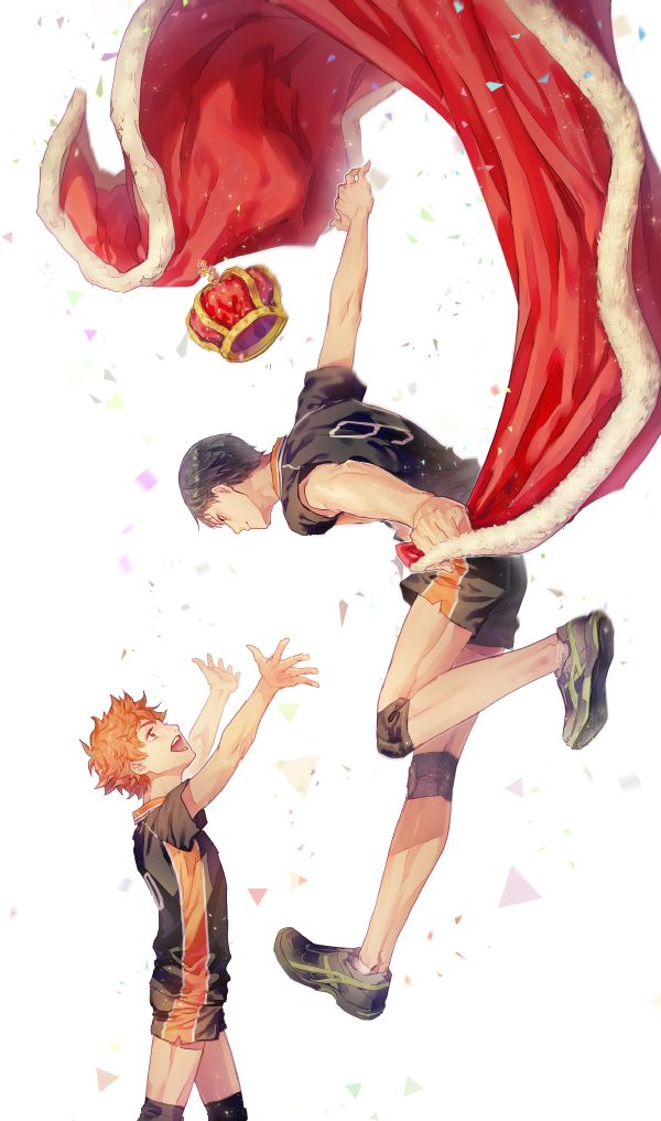 i could almost imagine hinata wearing dress and be like 'my king you have come' XD