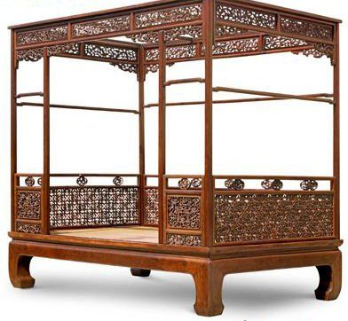 Chinese Beds for Sale | huanghuali bed from the Ming dynasty (1368-1644) was sold for 43.12 ...