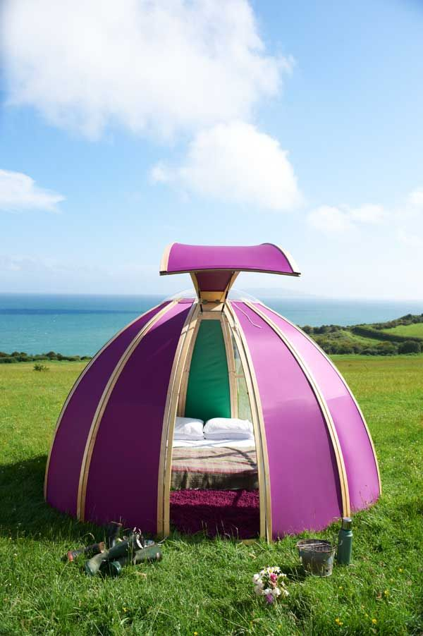 1628 best little pink house images on pinterest for Permanent camping tents