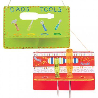 A fun present for Dad! Wooden Screwdriver Holder -