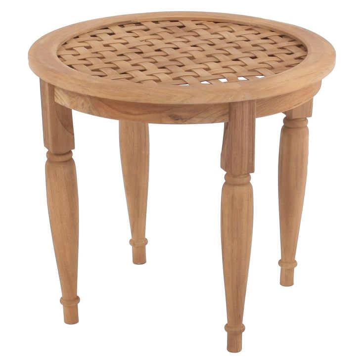 Willow Bay Patio Side Table - Natural