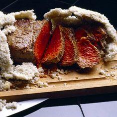 Recette de côte de bœuf en croûte de sel
