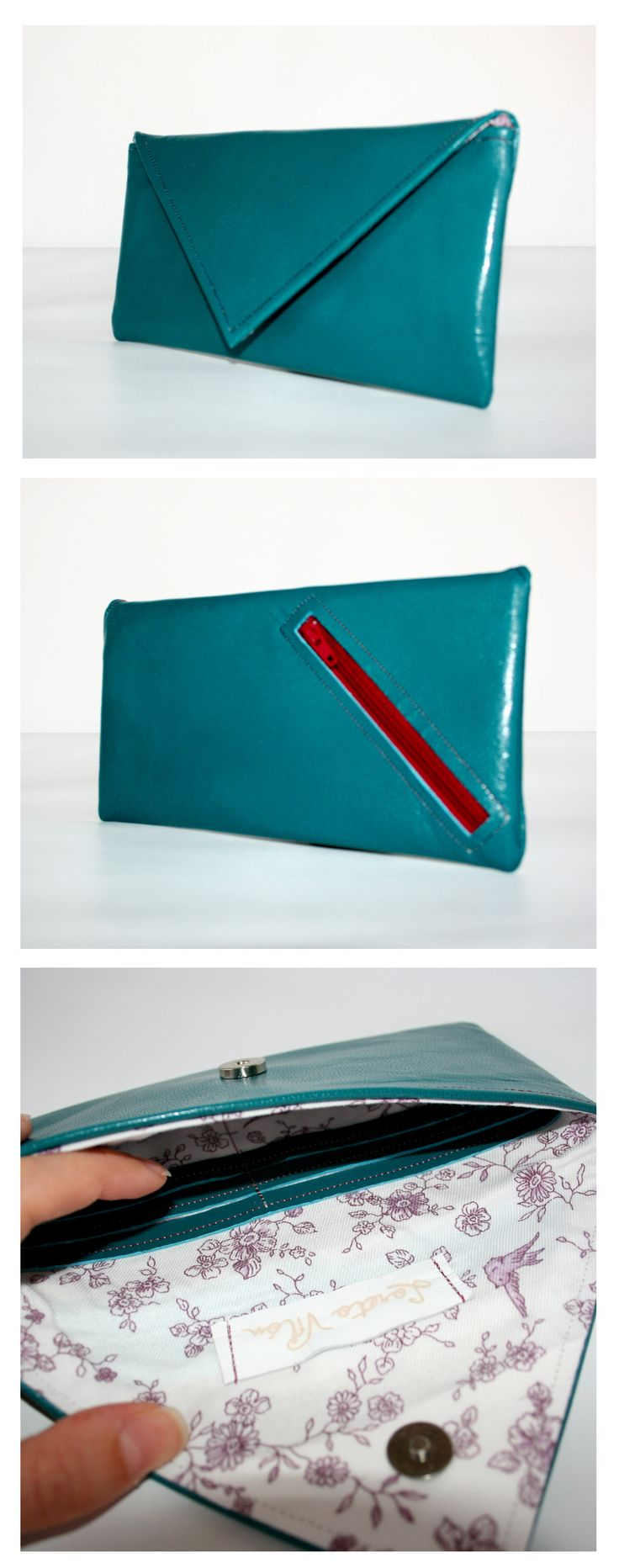 Emerald Purse - 100% Leather