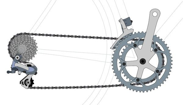 How to use bike gears - What the proper gear to be in is. How to shift bike gears, what to avoid while changing bike gears, using bike gears properly on a hill, flat or descent.