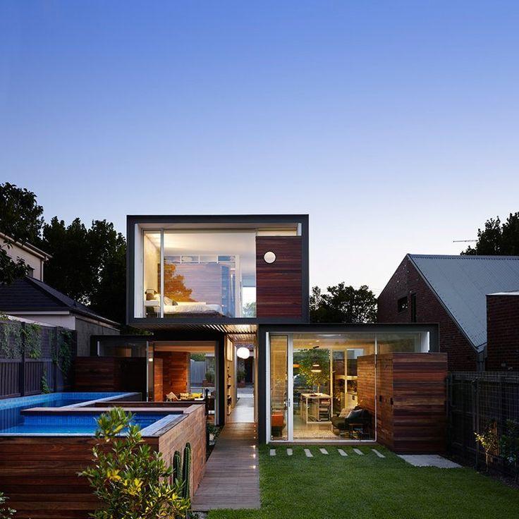 Maison conteneur de design moderne piscine hors