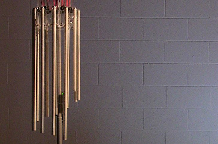 High Tech Wind Chimes Receive Real Time Solar Wind Data From NASA #technology