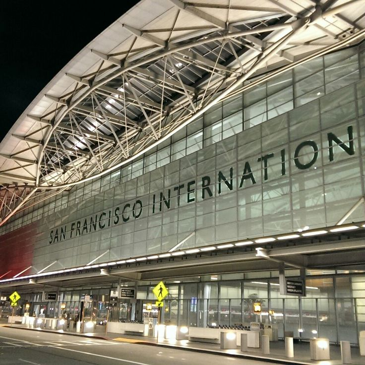 The day's coming to a close. Bye California. Bye Porsche - San Francisco International Airport (SFO)