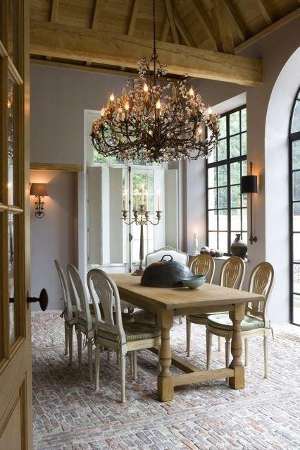 Belgian Pearls Lefevre Interiors via A House Romance