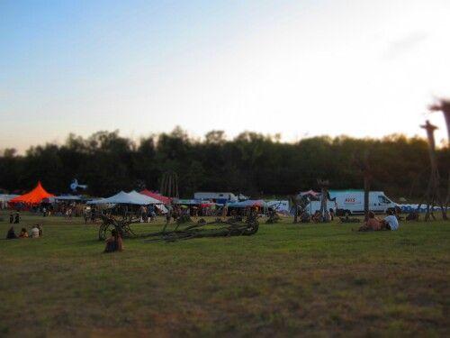 'Ozora festival' playground